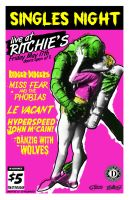 Singles Night at Ritchies by after-the-funeral
