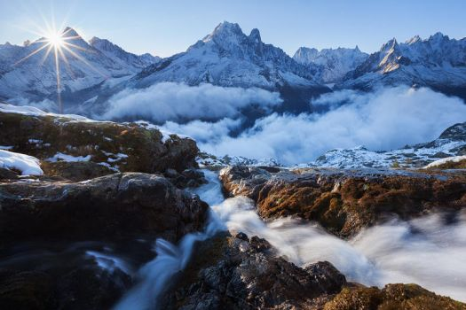 Chamonix valley by TobiasRichter