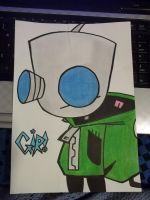 Gir :P With Color! by Claudzila777