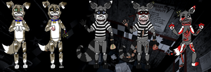 Five Nights At Freddy's Adopts -Auction- ~Closed~ by AsylumMutt