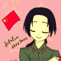 Hetalia - China by kageNOhikari