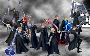 Org XIII Wallpaper by lady-dragonish