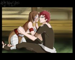 Gaara and Hel (my OC) by HelavisKrew