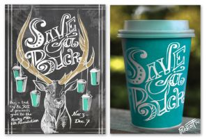 Caribou Coffee Campaign by MBrainspaz