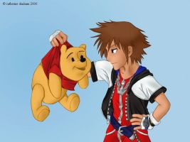 :kingdom hearts: ... by CatusSnake