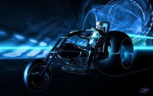 Tron - Hell Angel by ivanraposo