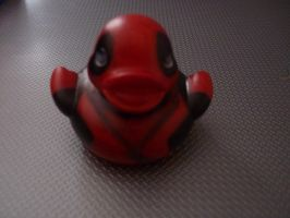 Deadpool duck by ShayeraLee
