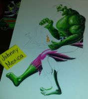 The HULK by JohnnyMexica