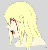 Niha is all bloody by LowHealthHeroes