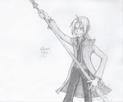 Edward Elric Sketch by EpiKfurry