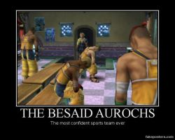 Poster: Besaid Aurochs by TheMoonclaw