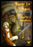 Battle for Ignis, Chapter 3: Abruptions - Cover by Azizla