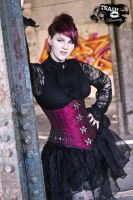 Elegant Punky attire 1 by Noirin-Stock