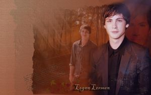 Logan Lerman by Vitales