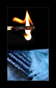 Not by fire, but by ice by Maceo-x-