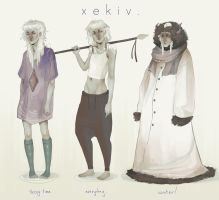 Xekiv Reference. by cephalopagus