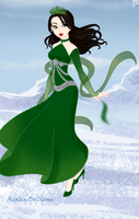 Slytherin Snow Queen by msbrit90