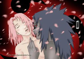 Kiss of a vampire - SasuSaku by Regi-chan