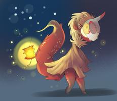 Lanterns and Night Lights by Nine-doodles
