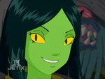 WITCH: Miranda transformed into a reptile by LittleGreenGamer
