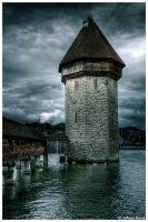 The Lake Tower by JeRoenMurre