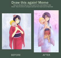 Before and after by piinl