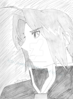 Edward Elric Pencil Shade 2006 by Anime-Kat2002