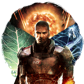Mass Effect 3: Three roads by viedara