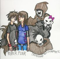 reaperpunk inc. by ZOMBIES-GO-RAWR