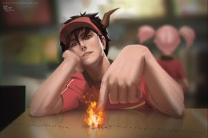 Devils a Part Timer by DarkKenjie