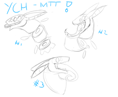 Sushi and regular MTT YCH! Points + Paypal! by ConduitofBreath
