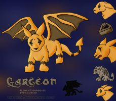 Gargeon - The Cursed Pokemon by phantompanther