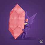 Mega Sableye by Dialects22