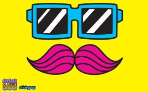 Moustaches+Glasses Wallpaper by stickypop