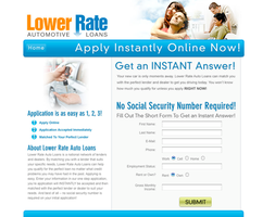 Lower Rate Auto Loans by xstortionist