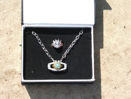 Matrix Necklace - Con Ring by Unicron9