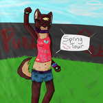 Spring Tour: Punk Rock Babe by AjthePirate