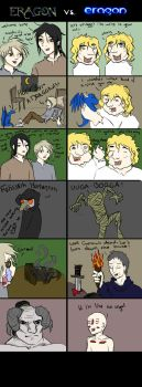 Eragon vs. Eragon 1 by TheGreatestFrog