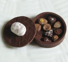 Cameo Chocolate Chocolate Box by fairchildart