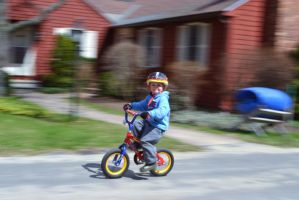 1st Day Without Training Wheels by wagn18