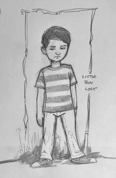 Little Boy Lost by kennf11
