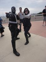 Agent Venom and Winter Soldier by pa68