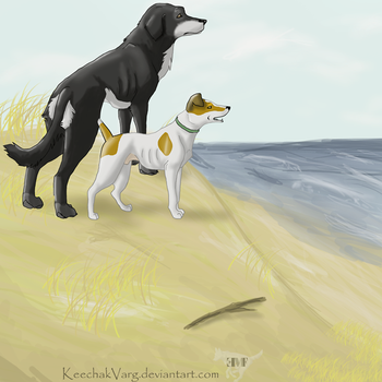 'PlagueDogs' The Sea by KeechakVarg