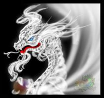 The White Dragon by Zecon