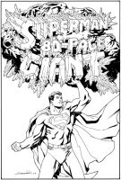 Superman 80 page giant cover by aaronlopresti