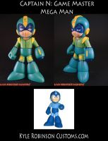 Custom Captain N Mega Man by KyleRobinsonCustoms