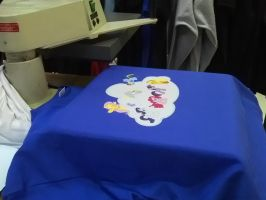 My MLP FIM design being printed ! by nooriginalnames