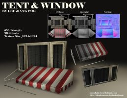 Window andTent by kingdomzone