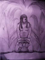 The Angel Condemed By Fate by DTrain2695