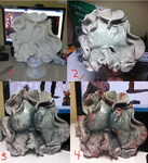 Clicker Mask Progress 2 Last of Us by donttouchmymilk